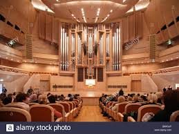 before concert of organ music in international house of music