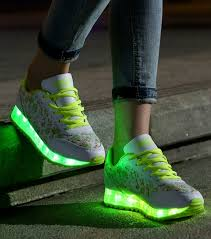 led lights shoes nike 7 colors 2015 new womens sneakers luminous usb charging colorful led