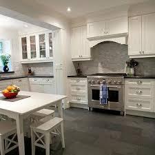 white kitchen floor tile ideas black slate kitchen floor tiles design ideas