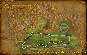 World Of Warcraft Map by Wow Herbalism Guide 1 800 Herbalism Leveling Guide