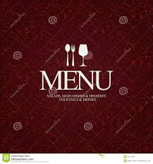 restaurant menu design royalty free stock image image 25911856