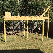 Exciting How To Build A by Exciting How To Build A Ninja Warrior Course 34 For Your Modern