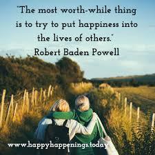 Robert Baden Powell Happiness U2013 Please Feel Free To Share The Happiness U2026