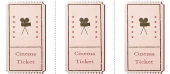 printable movie ticket template 40 free editable raffle movie