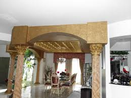 unique 3d columns ocala faux finish dining faux column and ceiling texture
