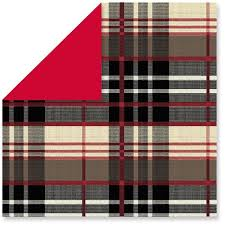 christmas plaid wrapping paper diy plaid chargers with hallmark lyn at home
