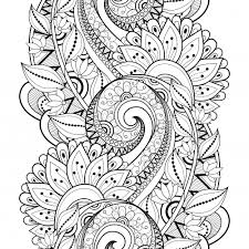 Hard Flower Coloring Pages - advanced flower coloring pages 3 valerie bertinelli copic and