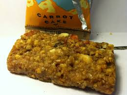 crazy food dude review clif carrot cake energy bar
