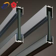 Aluminium Awning Rail Aluminum Extrusion Rail Aluminum Extrusion Rail Suppliers And