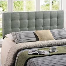 jezebel adjustable full queen button tufted headboard by