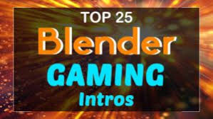 best templates for blender top 25 blender gaming intro templates 2017 free download