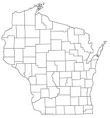 State Of Wisconsin Map by Wivuch Maps And Forms