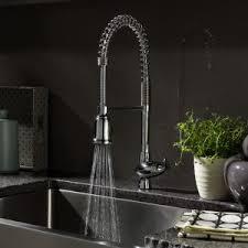 interior stylish kitchen design using best kitchen faucet
