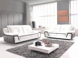 magasin de canapé cuir canapé en cuir blanc luxe salon cuir italien moderne canap d angle