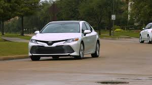toyota an 2018 toyota camry xle test drive