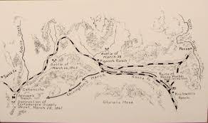 Battle Of New Orleans Civil War Map by Just When All Seemed Lost The Battle Of Glorieta Pass U2013 Civil War