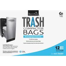 bestair trash compactor bag wmck1335012 6 kratzer