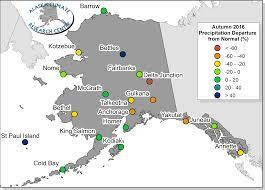Barrow Alaska Map by Autumn 2016 Climate Summary Alaska Climate Research Center