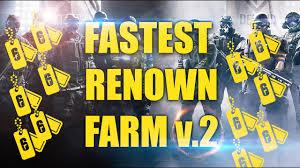Patch 5 4 Siege Rainbow Six Siege Fastest Way To Earn Renown V2 2017