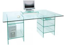 Buy Glass Computer Desk Captivating Glass Computer Desk Glass Computer Desk Featured With