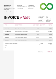 Simple Invoice Template Download Yahoo Invoice Template Rabitah Net