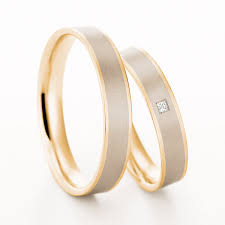 christian bauer ring pair of 18ct 4mm wedding rings by christian bauer from heming