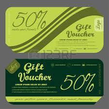 green gift voucher vector illustration blank of gift voucher vector illustration to increase sales on