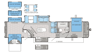 jayco north point 375bhfs model floor 5th wheel bunkhouse plans