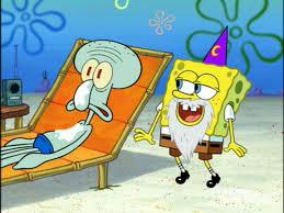 image squidward u0026 spongebob wearing 1 wizard beard u0026 1 wizard