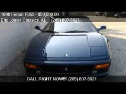 1998 f355 spider for sale 1998 f355 spider for sale in birmingham al 35233 at