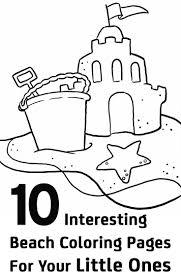sandcastle coloring page contegri com