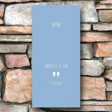 Blue Table Menu Table Menus Wedding Stationery U2013 About To Be Hitched