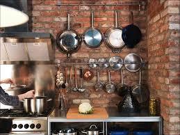 kitchen room saucepan rail frying pan storage solutions saucepan