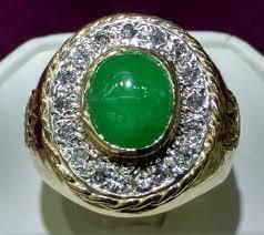 jade engagement ring jade and diamond men s ring 14k popular jewelry