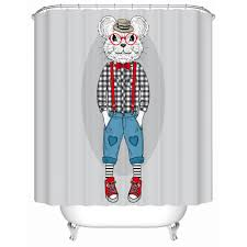 Animal Shower Curtain Designer Shower Curtain