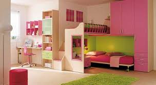 Modern Girls Bedroom With Pink Color Ideas Contemporary Homes - Bedroom girls ideas