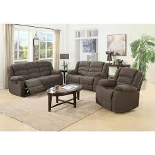 sofa microfiber reclining sofa set reclining sofa and loveseat