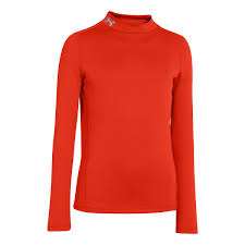 Under Armour Kids Clothes Under Armour Boys Coldgear Evo Fitted Long Sleeve Mock No Zip