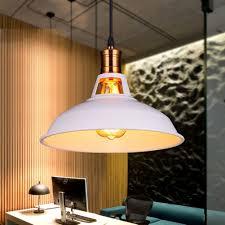 Home Office Ceiling Lighting by Fuloon Retro Industriel Edison Simplicité Lustre Vintage