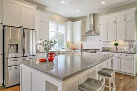 kitchen cabinets with white quartz countertops kitchen countertop ideas with white cabinets designing idea