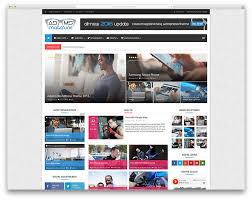 Free Creative Resume Newspaper Style Top 40 News Magazine Wordpress Themes 2017 Colorlib