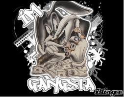 u0027m gangsta bugs bunny picture 114447227 blingee
