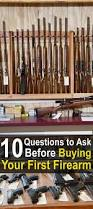 10 questions to ask before buying your first firearm important