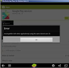 gogle play service apk android play services installation on bluestacks is