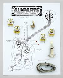 ep 4140 000 wiring kit for gibson les paul
