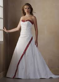 wedding dresses with color item colorwd013 wedding dress with color trim