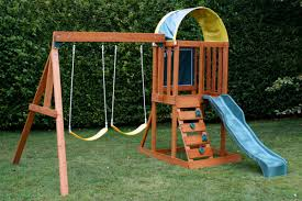 outdoor swing set with wooden swingsets also prairie ridge all