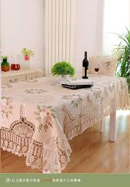 european style handmade crochet lace ribbon embroidered table european style handmade crochet lace ribbon embroidered table cloth decoration cover for home decor table mat