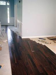 diy hardwood flooring note choose matte not glossy for the