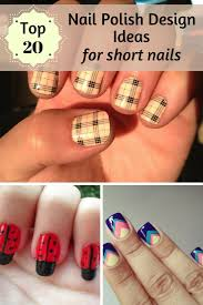 top 20 nail polish design ideas for short nails zoomzee org